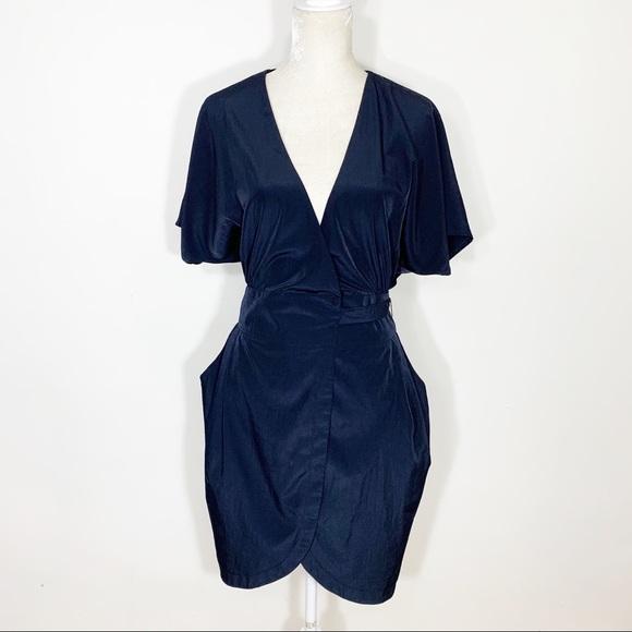 c97e89a3 Topshop Dresses | 325 Dolman Sleeve Wrap Pocket Dress | Poshmark